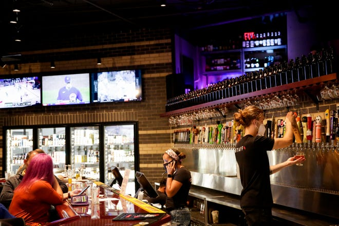 Inside The Tap, 100 S. Chauncey Ave., Wednesday, Sept. 23, 2020 in West Lafayette.