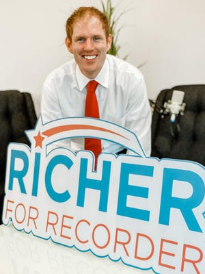 Stephen Richer says he's running for Maricopa County recorder because he believes the position shouldn't be riddled with controversy.