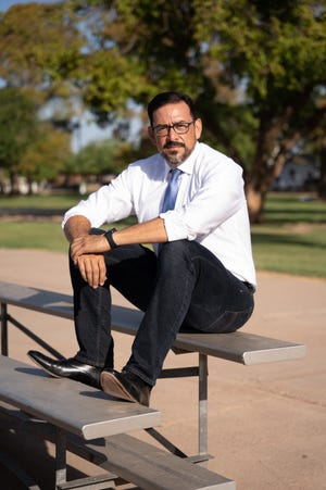 """""""Our democracy is under a full-fledged attack —so it's imperative that we elect a state elections official who can do the job on Day One,"""" Adrian Fontes says."""