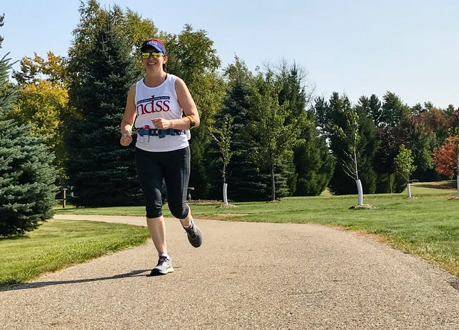 Sandusky resident Amy Roggenbuck will participate in the National Down Syndrome Society's Run for 3.21, an over 260 mile run that will start Oct. 2 and end Oct. 4.