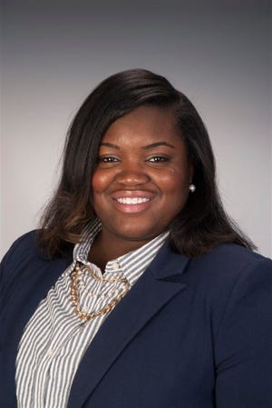 Rochester Mayor Lovely Warren's new chief of staff, Brittaney Wells.