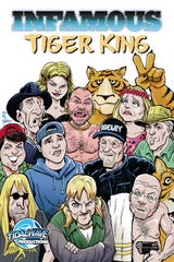 """Another """"Tiger King"""" comic is in the works from TidalWave Productions."""