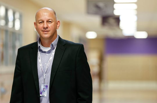 Fair Grove Superintendent Mike Bell on Thursday, Sept. 24, 2020.