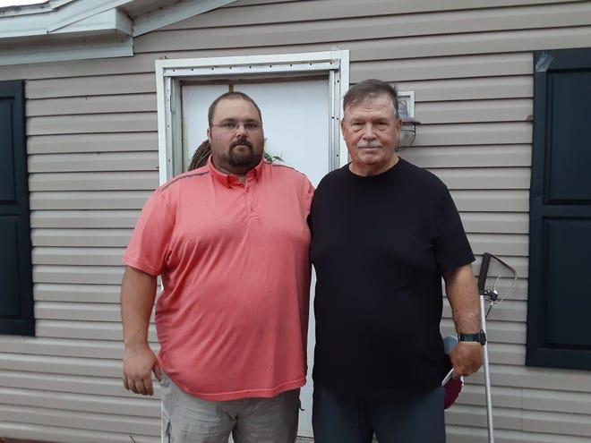 Guy Nichols Jr. and Guy Nichols Sr.