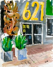 Diane Dyal's Contemporary Gallery is part of the Jefferson Arts Gallery October 2020 show.