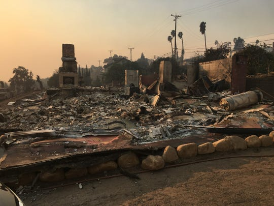 The Cairns family's home in Ventura was destroyed in the Thomas Fire on December 5, 2017. They had bought the home just a year earlier, in December 2016.