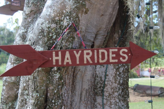 Hedge Field Farms in Bridgeton will open to the public for fall fun including hayrides, corn maze and farm games from noon to 5:30 p.m. Saturdays in October.