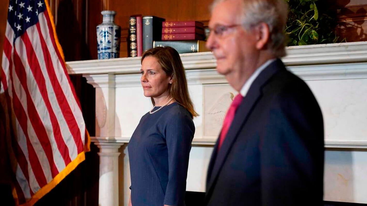 Supreme Court hearings are moving forward despite COVID-19 diagnoses for senators – USA TODAY