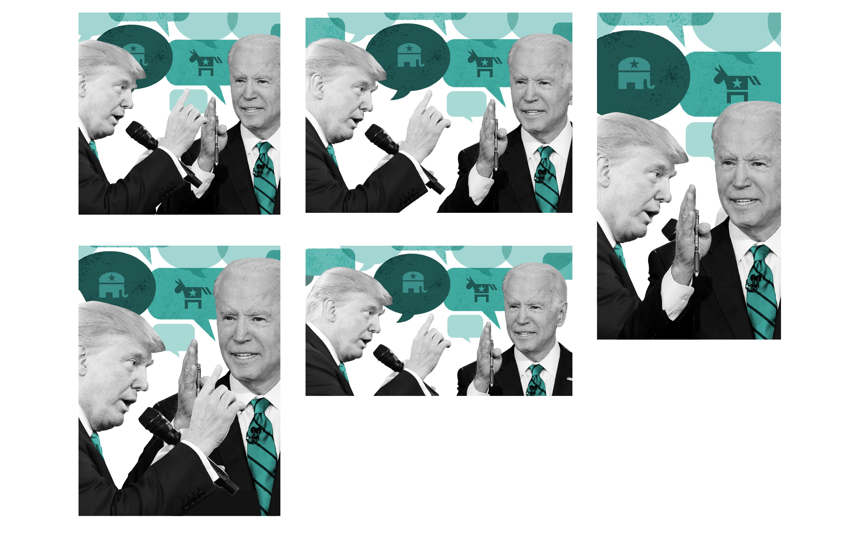 Who won the presidential debate? Not voters with arguments, attacks, and little substance