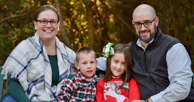 The Graham Family: (l to r) Celeste, Levi, Paisley and Phil. The journey to get an accurate diagnosis for their son who was adopted from Ukraine was an arduous one.