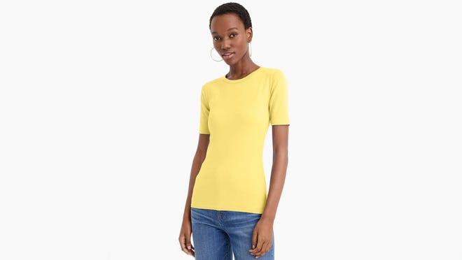 Los mejores regalos para esposas 2020: J.Crew Camiseta Slim Perfect