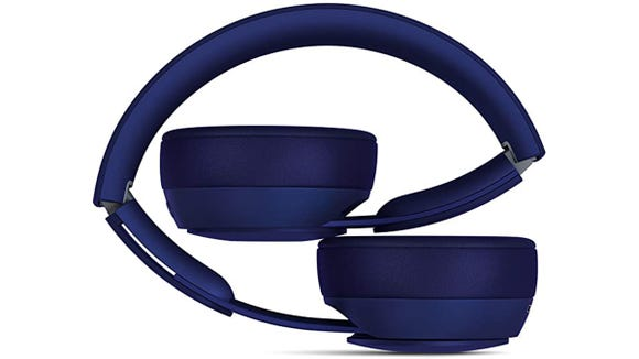 These Beats fold up to turn off, and unfold to turn on.