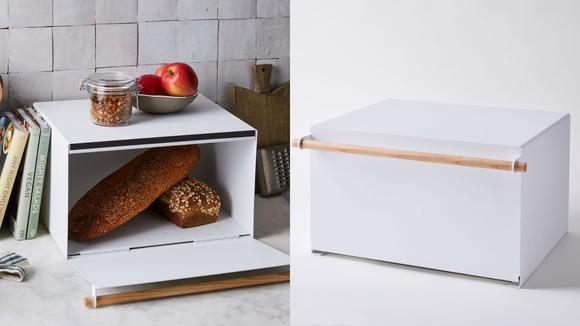 Best kitchen gifts: Simple Steel Bread Box