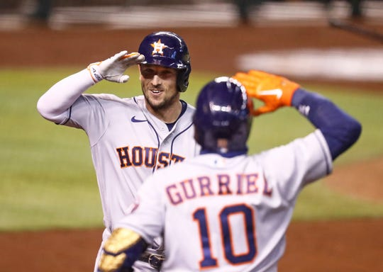 Alex Bregman and the Astros reached the postseason with a 29-31 record in the regular season.