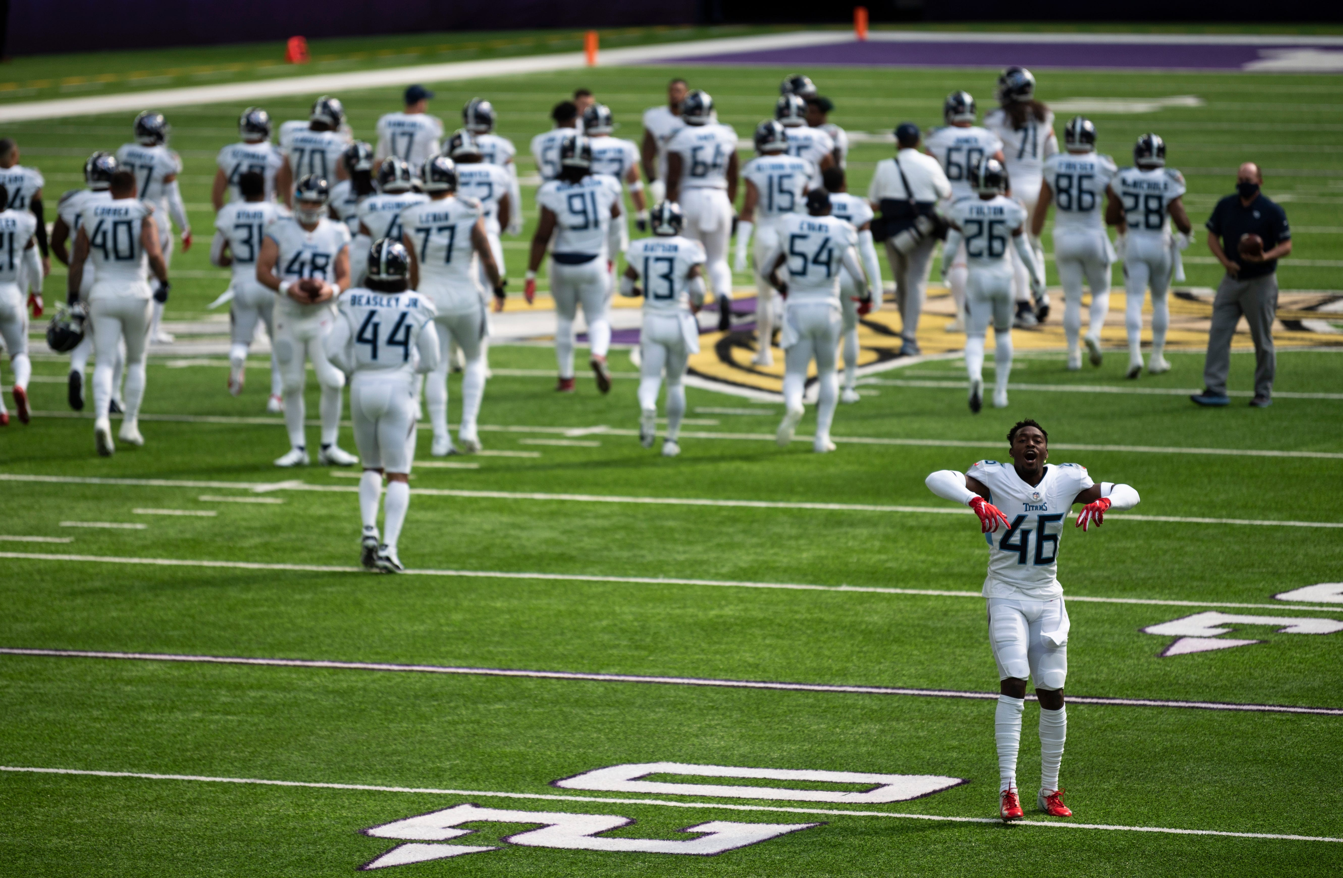Tennessee Titans stop in-person team activities amid 'several' positive COVID-19 tests