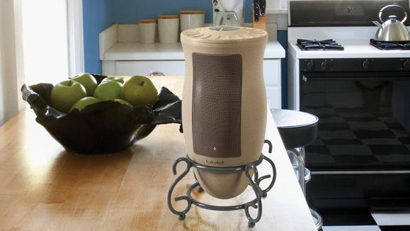 This Lasko model will blend right in as an elegant accent.