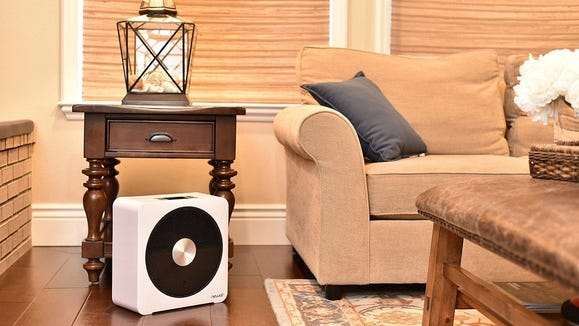 It may be small but this heater can expel serious heat.