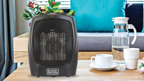 This heater occupies very little space.