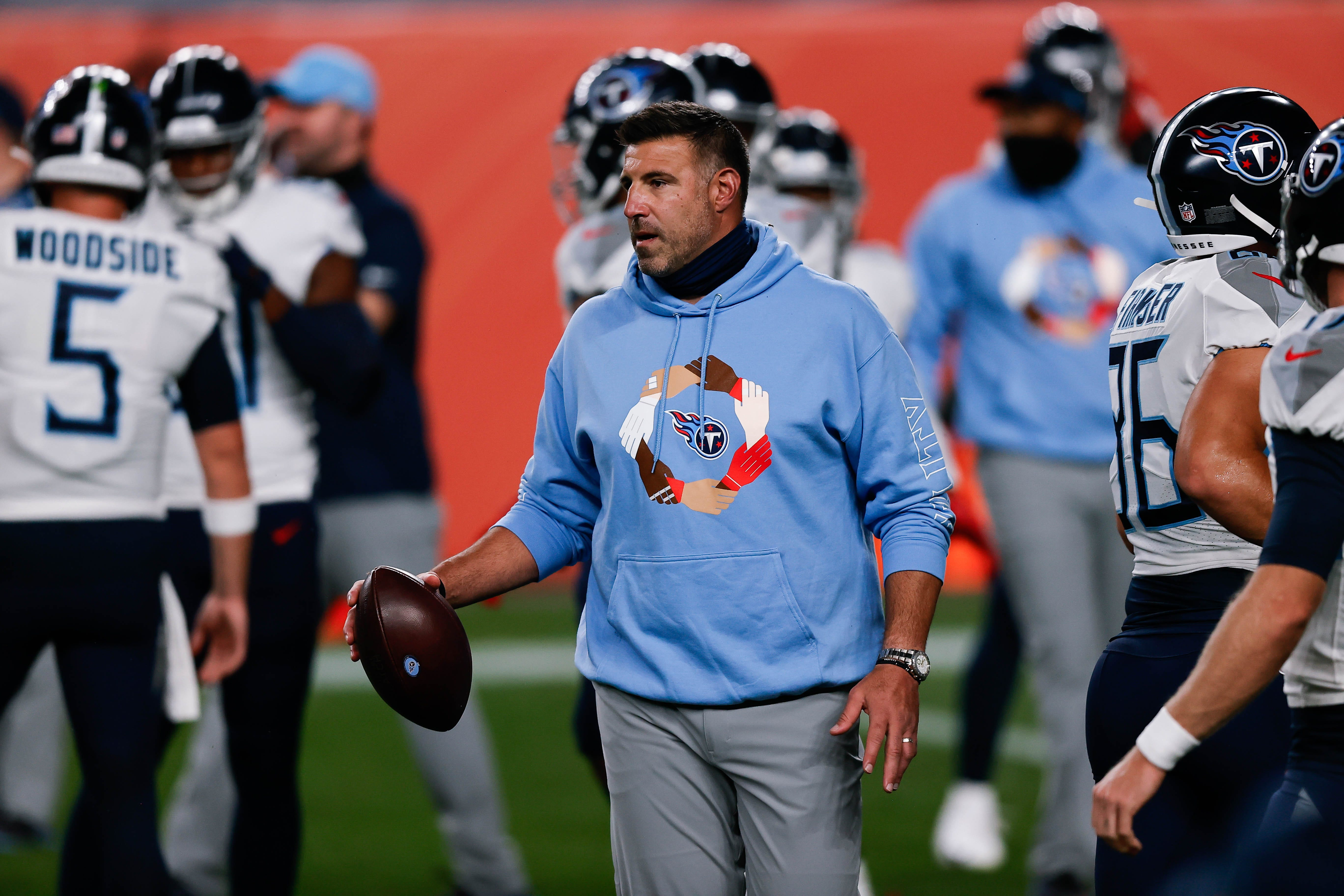 Titans coach Mike Vrabel determined to keep suicide prevention message going: 'People are there for you'