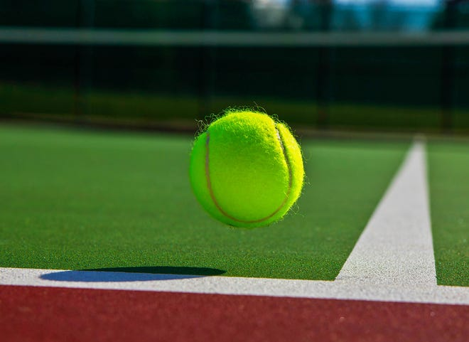 High school tennis results