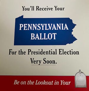 Pennsylvania ballots will arrive in mailboxes soon.