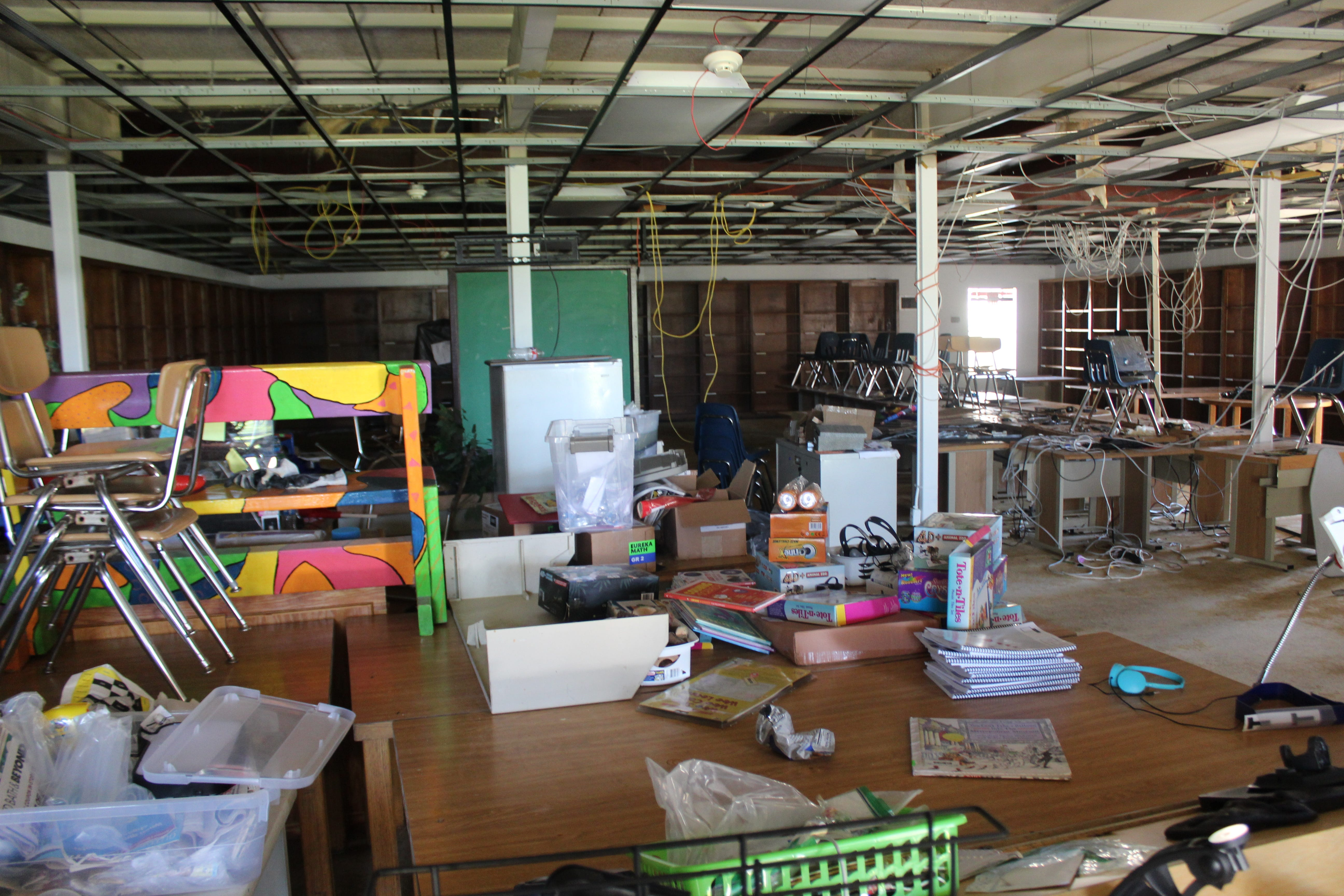 Hurricane Laura trashed this Louisiana school s library. One teacher s plea on social media brought help (and books) from across the US.