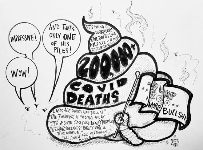 Cartoon Commentary by Trey Everett