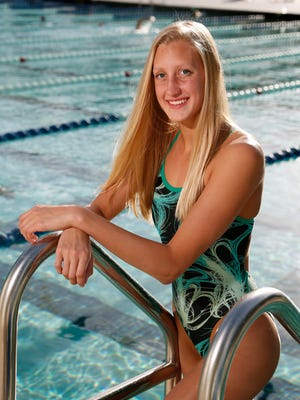 Twice named The News-Journal's Female Athlete of the Year, Flagler Palm Coast's Micayla Cronk has won five state swimming championships.