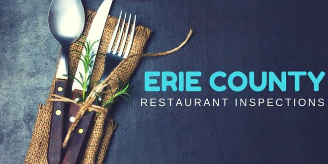 Erie County restaurant inspections from GoErie.com.