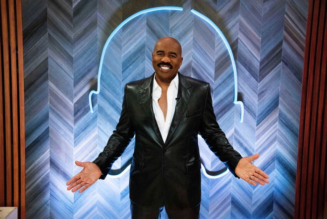 "Steve Harvey says his daytime talk show being canceled by NBC opened up new doors with Facebook Watch. The comedian launched ""Steve on Watch"" on the streaming platform."