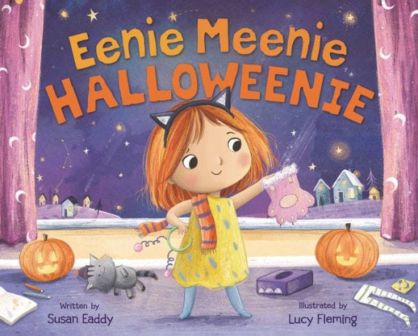 """Eeenie Meenie Halloweenie: by Susan Eaddy and Lucy Fleming"