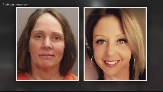 "Kimberly Kessler (left), charged in the murder of Joleen Cummings (right), a Nassau County hairstylist co-worker whose body has never been found, is near death and needs ""forced nutrition"" to remain alive."