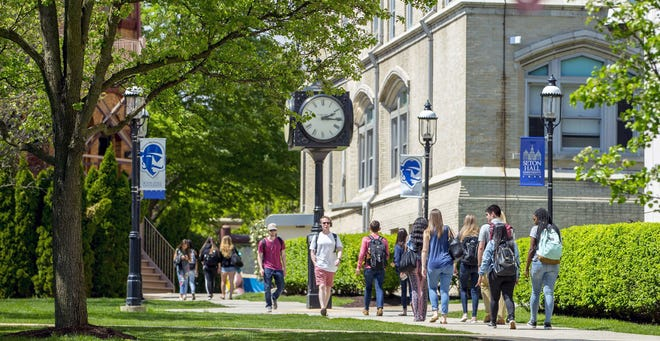 Christopher Aube and Myles Cale, both of Middletown, were named to the spring 2020 dean's list at Seton Hall University in South Orange, New Jersey.