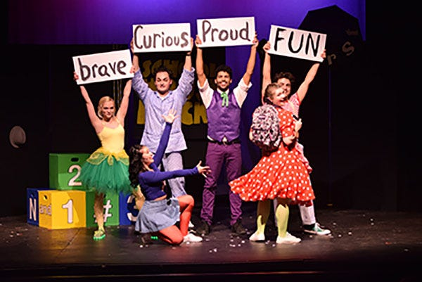"""Centenary Stage Company's Young Audience Series will be held Oct. 3-5, and will include """"School House Rock Jr. Live!"""" (above) and two other shows."""