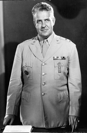 Gen. Leslie Groves who led the Manhattan Project.
