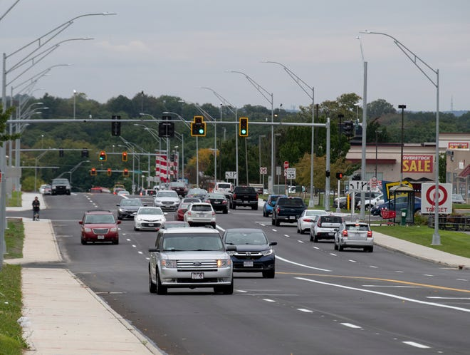 Eastbound Howe Avenue reopened on Monday after being closed for six months for a reconstruction project.