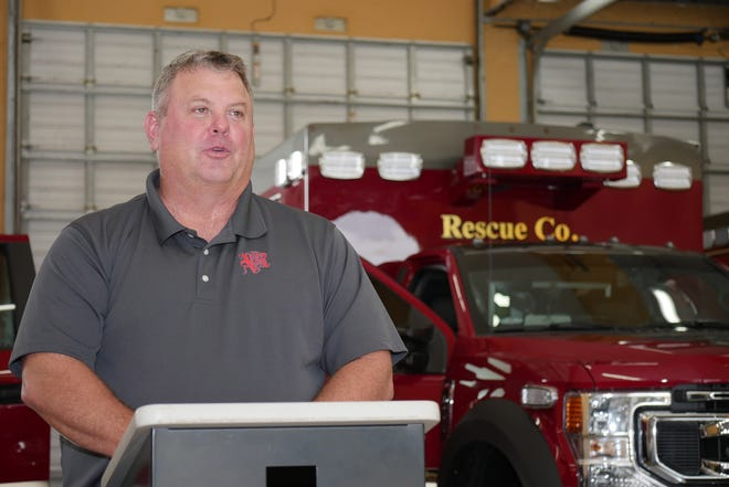 Venice Fire Rescue Chief Shawn Carvey said it has been a smooth transition for the city to take over operation of ambulance services from Sarasota County.