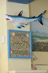A customer who later became a friend, made this Earth Treasures mosaic shortly after Don and Draeanne Rivette opened their store.