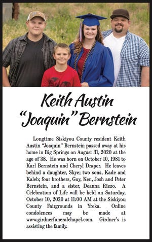 Obituary: 'Joaquin' Bernstein
