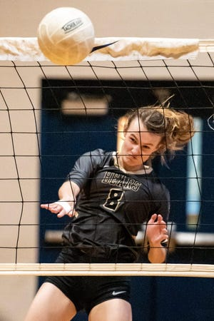 Gray's Creek standout Kylie Aldridge, the Best of 910Preps Volleyball Player of the Year, has committed to play college softball at Virginia Tech.