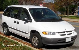 A man driving a van similar to this one attempted to lure a child, police say.