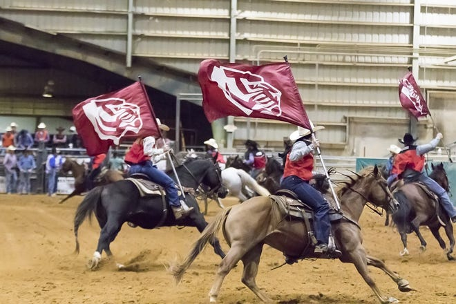 University of West Alabama's rodeo in Meridian, Miss.