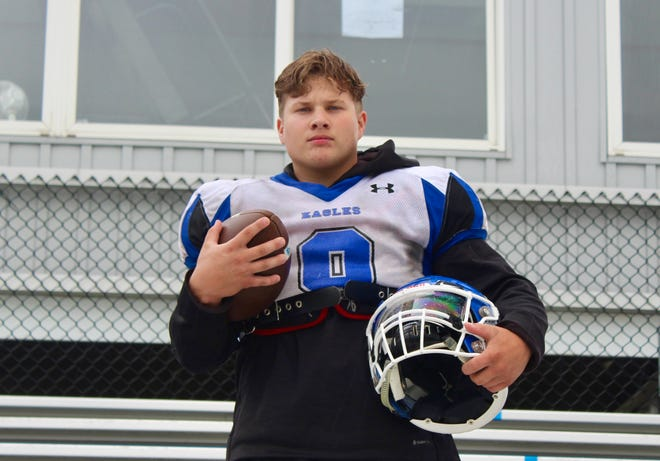 Christian Lautenschleger, a senior running back and linebacker, will graduate as one of the top players in the history of the Grove City Christian football program. The Eagles are preparing for the Division VII, Region 28 playoffs. They have a first-round bye and then visit St. Henry on Oct. 16.