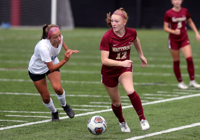 Midfielder Grace Jenkins is among four senior leaders for the Watterson girls soccer team, which has been having a standout season. The Eagles, who were 10-1 before playing Hartley on Oct. 1, learn their Division I district tournament drawing Sunday, Oct. 11.