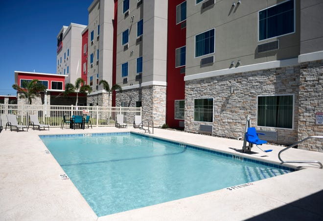 The Executive Residency by Best Western opened up in Flour Bluff during Memorial Day weekend, as seen Wednesday, Sept. 30, 2020. The hotel originally planned to open during March, but held off because of COVID-19.