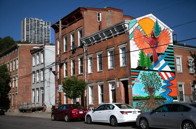 A mural on a private building on Hatmaker in Lower Price Hill, adds some color to this community that dates back to the 1850's. Community Matters in Lower Price Hill is planning to renovate several buildings for affordable housing. The rental properties would be efficiency up to three-bedrooms. The money designated for the renovation project from the city is now in jeopardy. The plan was to start the renovations in May 2021. The project would take about 18 months. The Lower Price Hill Thrives project is a collaboration between Community Matters and Over-the-Rhine Community Housing.