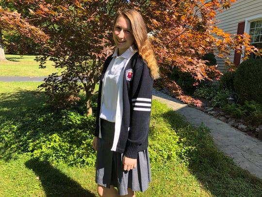 Tara Schilke of Pittstown attends George Mason University STEM program.