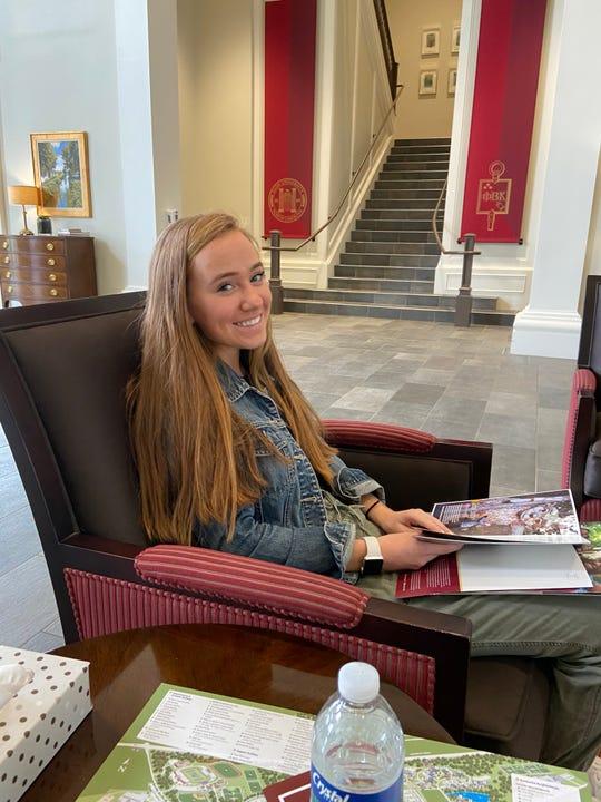Kayla DeAngelis of Basking Ridge, studies abnormal psychology at Brown University .