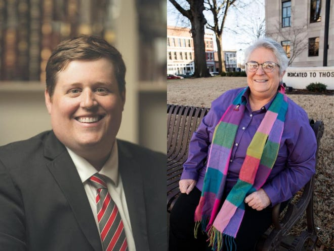 The Madison County Commission's district four special election to replace Billy Spain is against Republican Trey Cleek, left, and Democrat Cindy Boyles, right.