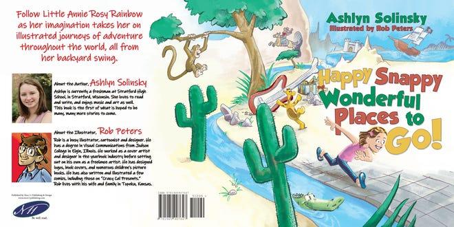 """Happy Snappy Wonderful Places to Go!"" was written by Ashlyn Solinsky, a freshman at Stratford High School."